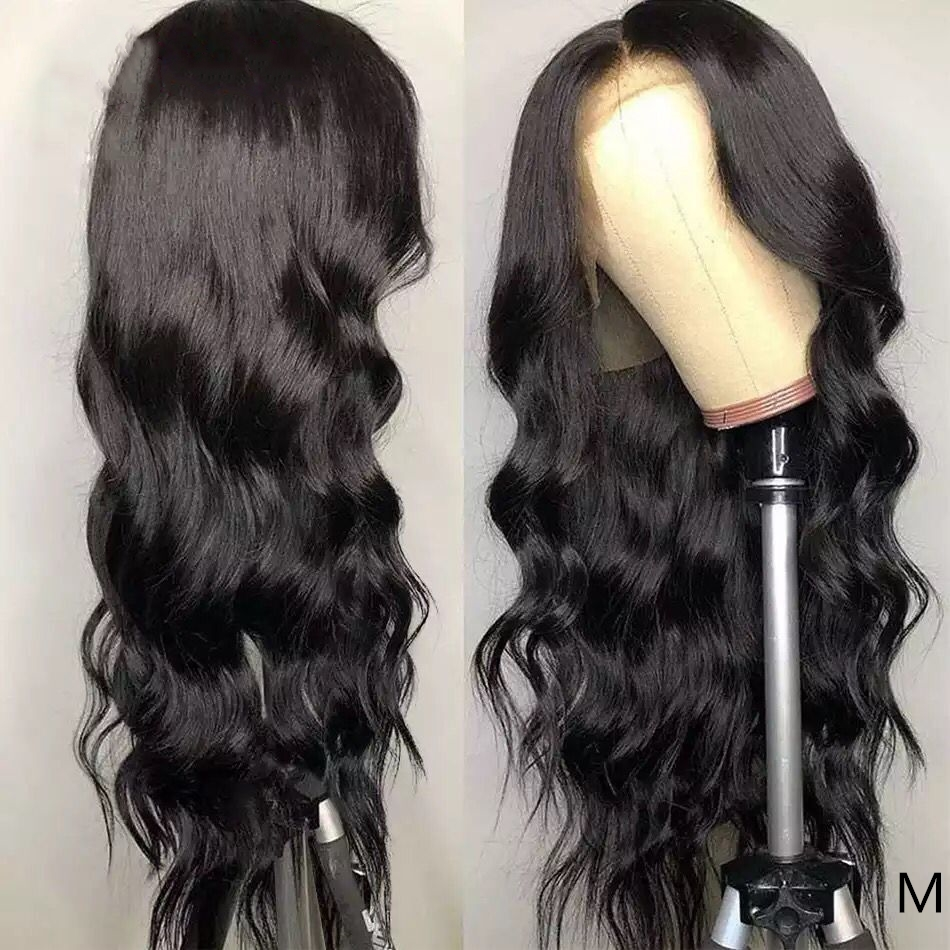 360 Lace Frontal Wig Pre Plucked With Baby Hair 150% Full Lace Frontal Wigs Remy Brazilian Body Wave Lace Front Human Hair Wigs