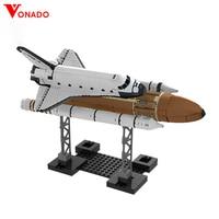 Vonado Star Wars Series 16014 Space Shuttle Expedition Diy Building Blocks Bricks Star Wars Creative Toys For Children