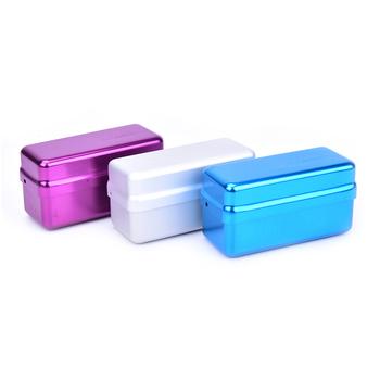 1Pc wysokiej jakości 72 otwór Aluminium sterylizator-autoklaw Case Burs dezynfekcji stomatologiczne Endo plików pojemnik na pudełko dla pielęgnacja jamy ustnej tanie i dobre opinie HNKMP CN (pochodzenie) dental bur box (box only)