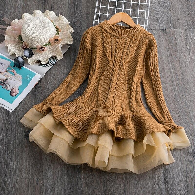H64a2d10b5cee4dcf9e3374ae37195cfcz Petals Designs Girl Dress Children Party Costume Kids Formal Events Vestidos Infant Tutu Flower Dress Fluffy Wedding Gown 3 5 7T