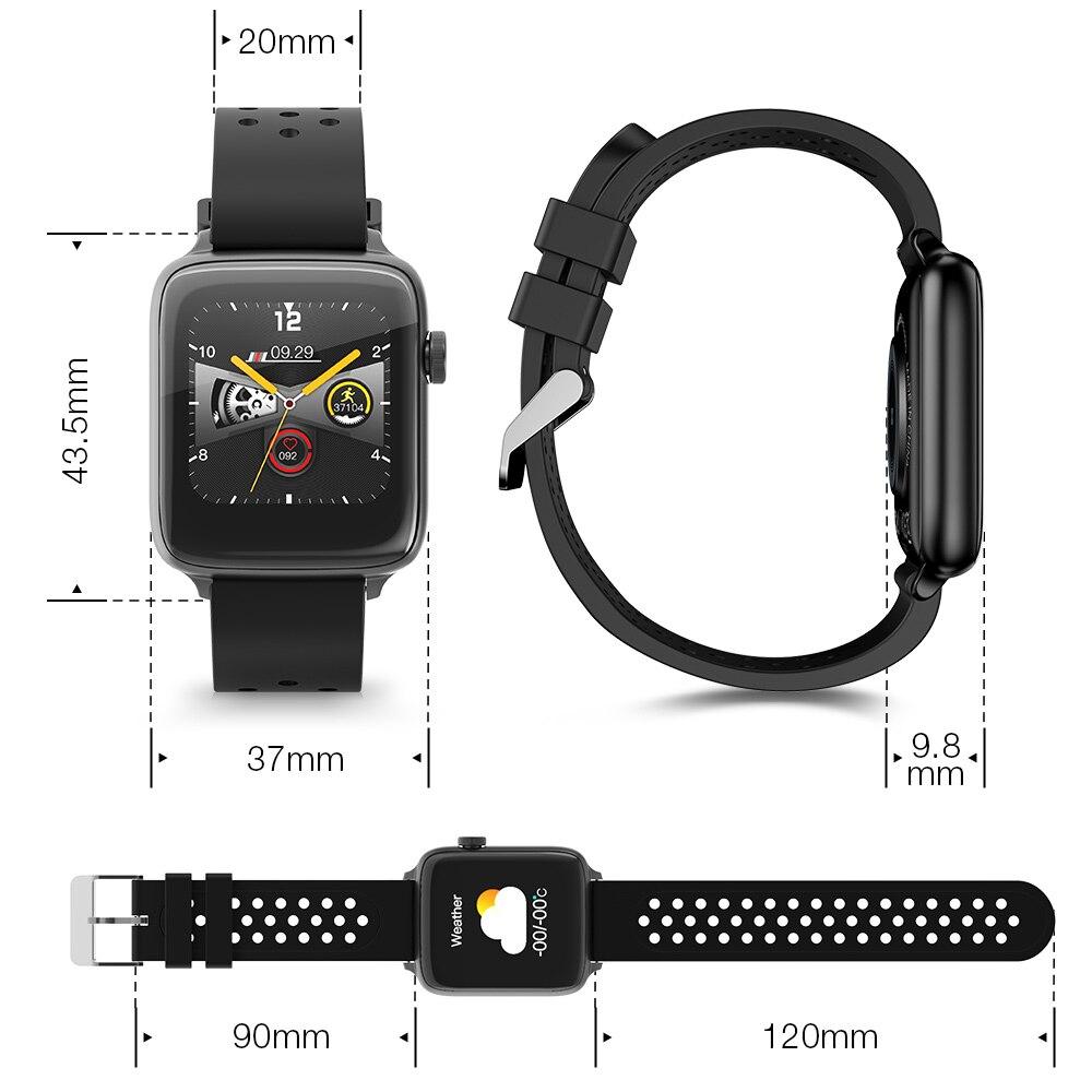 BlitzWolf BW-HL1Pro Smart Watch Smartwatch 2020 Watches for Men Women Kids Whatch Wach Fitness Tracker Heart Rate Blood Monitor 4