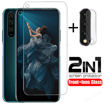2-in-1 tempered glass for honor 20 pro 20 lite V20 camera lens protective glass for huawei honor 20s on honor 20 20pro glass 1
