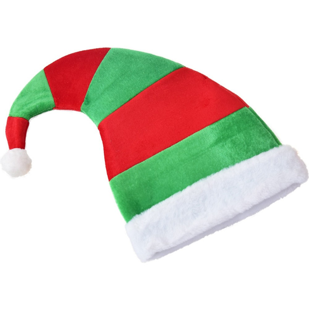Elf Hat with Ears Christmas Elf Hat Red or Green