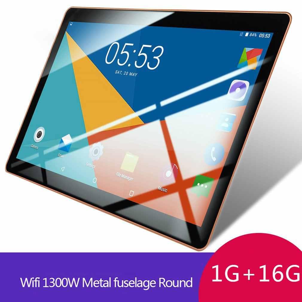 كمبيوتر لوحي بشاشة 10.1 بوصة الجيل الثالث 3G Ips شاشة Hd ذاكرة لاسلكية واي فاي 1 + 16GB نظام تحديد المواقع أندرويد نظام تحديد المواقع أندرويد اللوحي