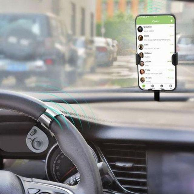 Voiture Portable sans fil contr leur de t l phone Portable Portable mont sur voiture t