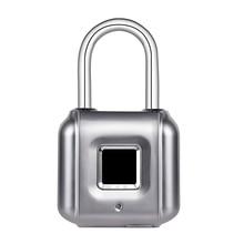 Case-Lock Fingerprint Smart KERUI Door-Luggage Wireless USB Rechargeable