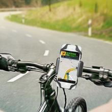 Bicycle Holder Anti Slide Handle Phone Mount Handlebar Extender Mobile GPS Accessories