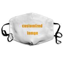 NOISYDESIGNS moda Unisex usta na zamówienie maseczka do twarzy Anti maski przeciwpyłowe utrzymać ciepłe maska śliczne zimowe maska Dropshipping