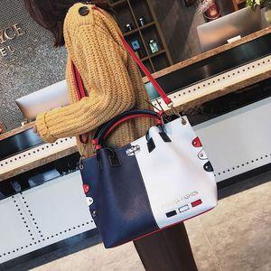 Image 2 - Mode Frauen Leder Schulter Tasche Tote Geldbörse Crossbody Messenger Handtasche Top Griff Taschen