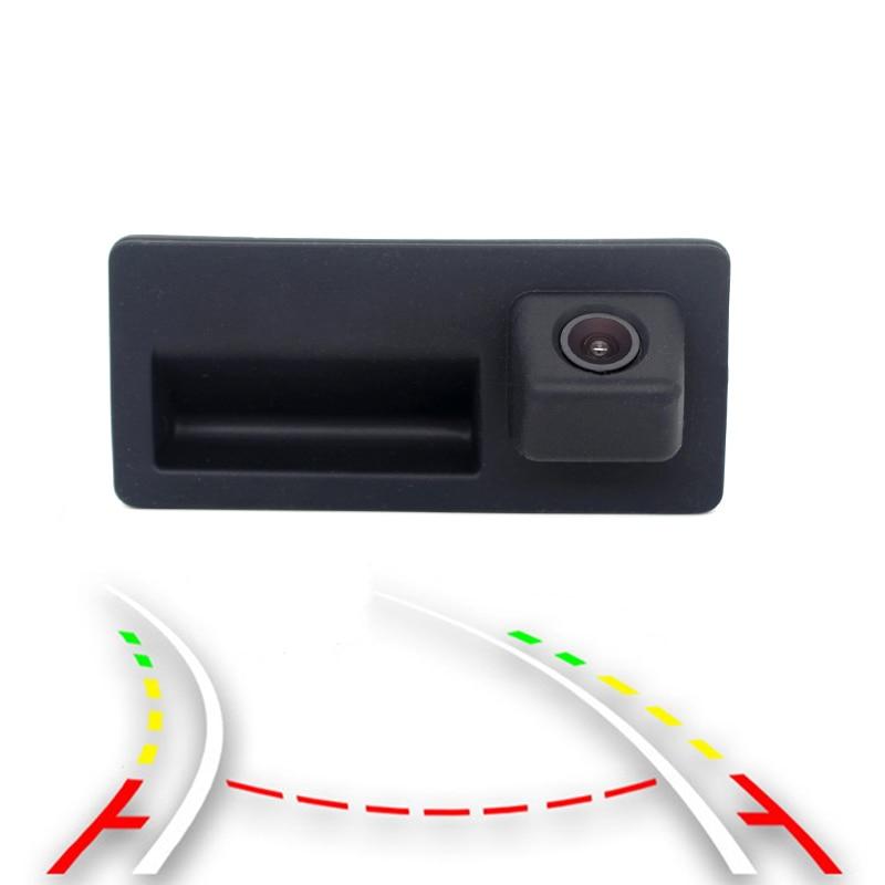 Wired / Wireless Car Trunk Handle Parking Rearview Backup Camera Case For Audi/VW/Passat/Tiguan/Golf/Touran/Jetta/Sharan/Touar