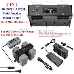 5w1 wielofunkcyjny domowy akumulator samochodowy zabawka do utrzymywania równowagi z ładowarką Hub cyfrowa przejściówka do wyświetlacza dla DJI Mavic 2 Pro Zoom akcesoria do dronów Ładowarki akumulatorów do dronów    -