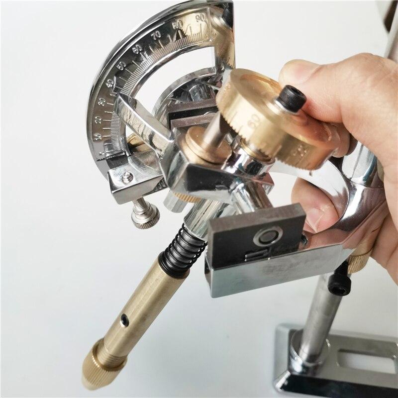12/24/36/48/60/72/84/96 Jade Grinding Polished Faceted Manipulator Gem Faceting Machine Jewel Angle Polisher Fork Wheels Handle|Grinders| |  - title=