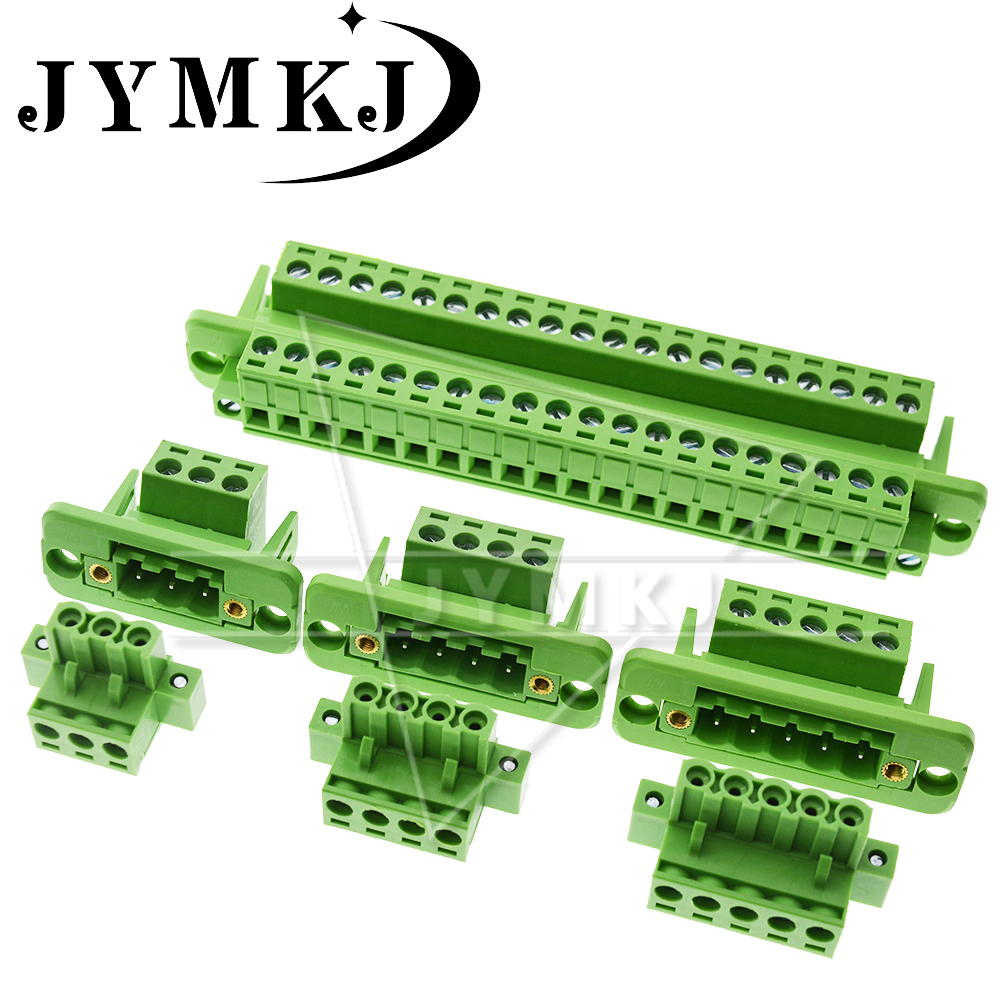 2EDG Pitch 5.08mm 2P/3P/4P/5P/6P/8P/9P/10P/12P/16P/18P/22P 2EDGWC Pluggable Terminal Block Connector JM2EDGKM 5.08mm Pitch
