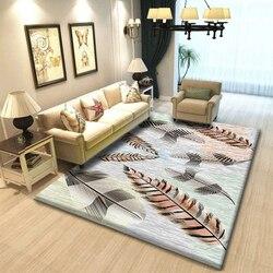 Nouveau tapis de sol en bois géométrique moderne pour salon tapis lavable antidérapant pour prière salle de bain commerciale ou ramper