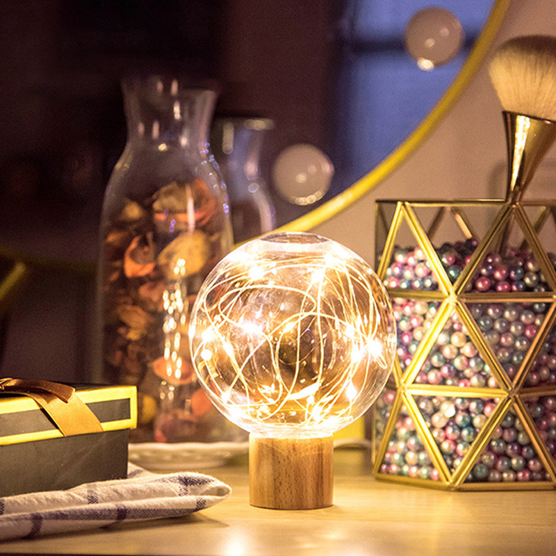 Creative Starry Atmosphere Lamp LED Night Lamp Lunar Lamp USB Charging Bedside Lamp Ball Lamp For Decoration And Lighting