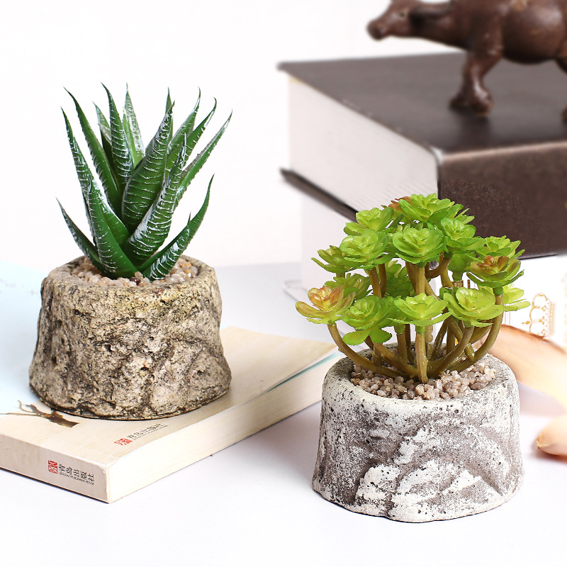 Nordic Ins Artificial Succulent Potted Artificial Plant Pots Home Decoration Artificial Crafts Cactus Decoracion Buy At The Price Of 3 75 In Aliexpress Com Imall Com