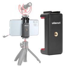 Ulanzi ST 07 Cold Shoe Mobile Phone Mount Holder Photography Vlog Accessory Tripod Universal 1/4 Screw Phone Bracket