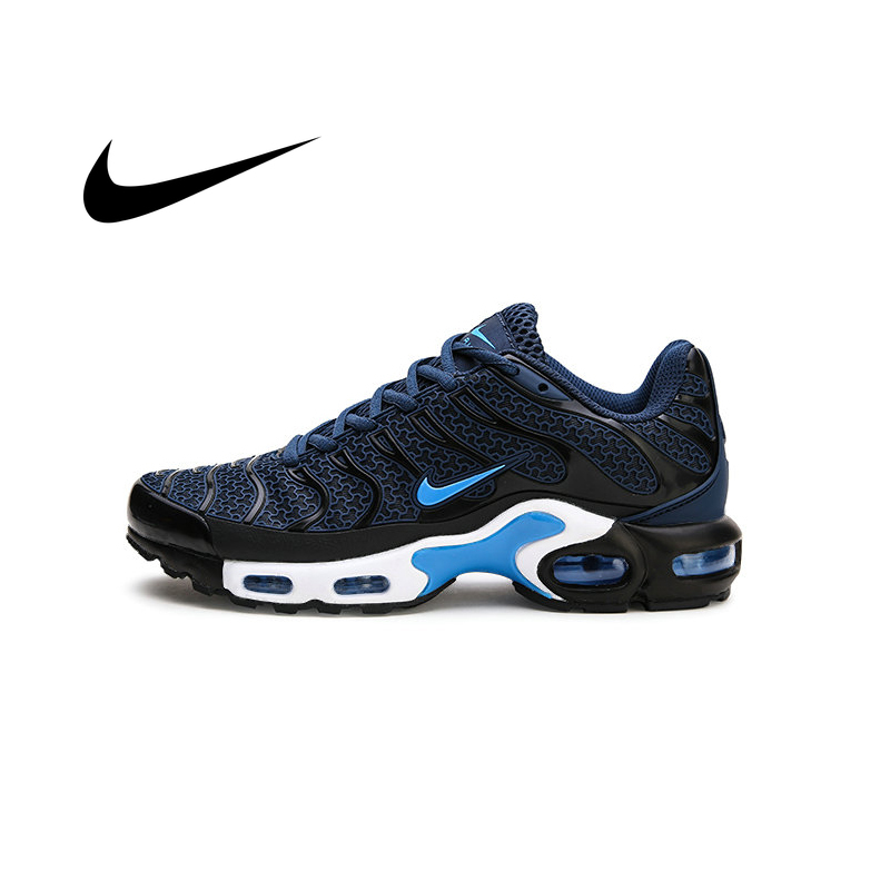 Original Nike Air Max Plus TN Men Sneakers Fashion Damping Running Shoes Jogging Fitness Tennis Outdoor Sports Cozy Good Quality