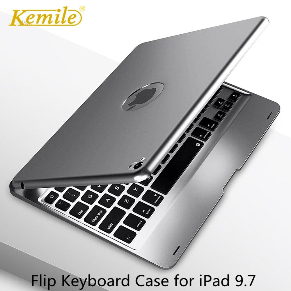Flip Keyboard For Apple IPad 9.7 2018 2017 Air 2 Pro 9.7 Case Bluetooth Keyboard Case For IPad Mini 4/5 7.9 Case Keyboard Keypad