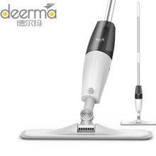 Original Deerma Spray Water Sweeper Mijia Soil Cleaner Carbon Fiber Mops 360 Rotating Rod 350ml Tank Waxing Mop