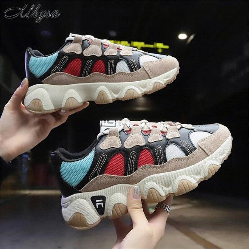 Mhysa 2020 Spring Fashion Sneakers Women Shoes New Women Vulcanize Shoes Platform Shoes Women Flats Female Chaussures Femme