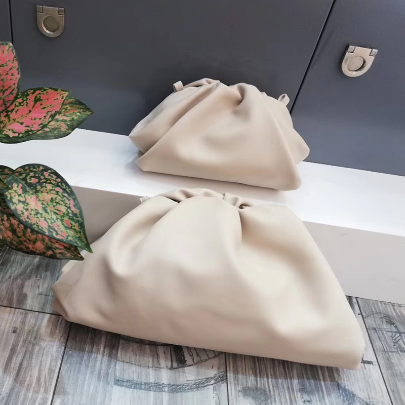Image 5 - Big Leather Pouch High Quality Soft Clutch Bag Evening Party Purse Bag Large Handbags for Women 2019 Black Green Brand New Bags-in Top-Handle Bags from Luggage & Bags