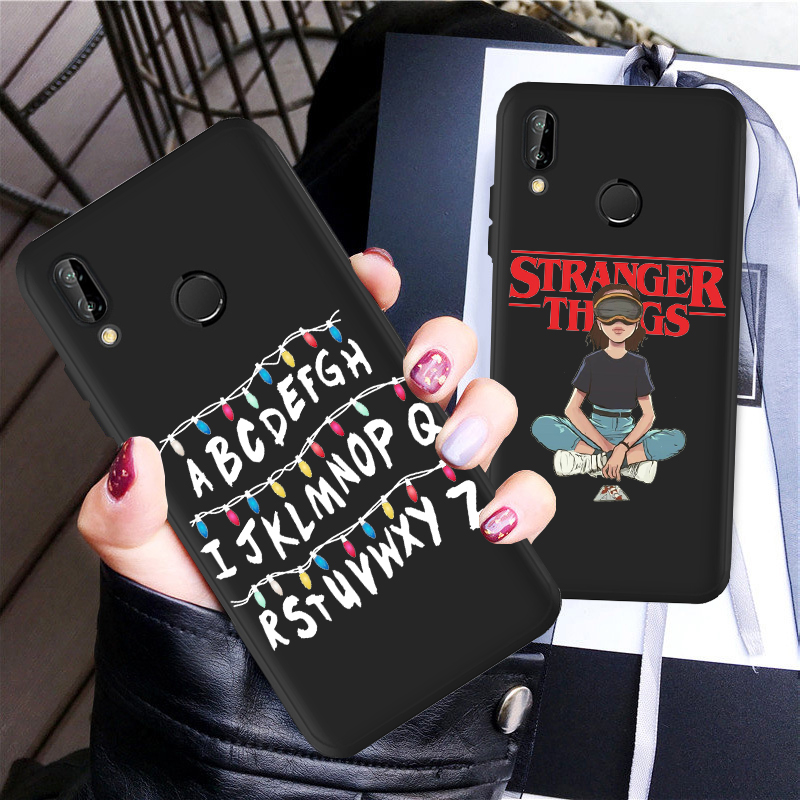 <font><b>Stranger</b></font> <font><b>Things</b></font> <font><b>Phone</b></font> <font><b>Case</b></font> For <font><b>Huawei</b></font> P40 <font><b>Lite</b></font> P Smart 2019 P30 <font><b>Lite</b></font> <font><b>P20</b></font> <font><b>Lite</b></font> P40 P10 <font><b>Lite</b></font> <font><b>P20</b></font> P30 Pro Soft Silicone Cover image