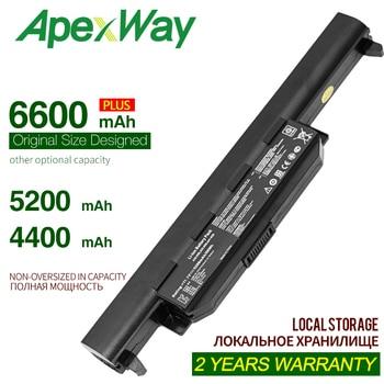 ApexWay Laptop Battery for Asus A32-K55 X55U X55C X55A X55V X55VDX75V X75VD X45VD X45V X45U X45C X45A U57VM U57A U57V U57VD new laptop cooling fan for asus x55 14mm x55v x55vd x45c x45vd r500v k55vm for discrete video card p n ksb06105hb cpu cooler