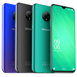 Мобильный телефон DOOGEE X95, Android 10, 4G, дисплей 6,52 дюйма, MTK6737, 2 Гб + 16 ГБ, две SIM-карты, тройная камера 13 МП, сотовый телефон 4350 мАч