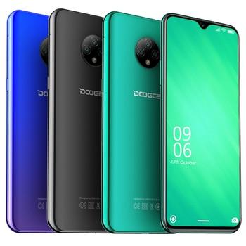 DOOGEE X95 Android 10 4G mobile phones 6.52 Display MTK6737 2GB +16GB smartphone Dual SIM 13MP Triple Camera 4350mAh cell phone
