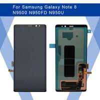 Для SAMSUNG Galaxy NOTE 8 N9500 ЖК дисплей AMOLED экран + сенсорная панель дигитайзер сборка для SAMSUNG дисплей Оригинал