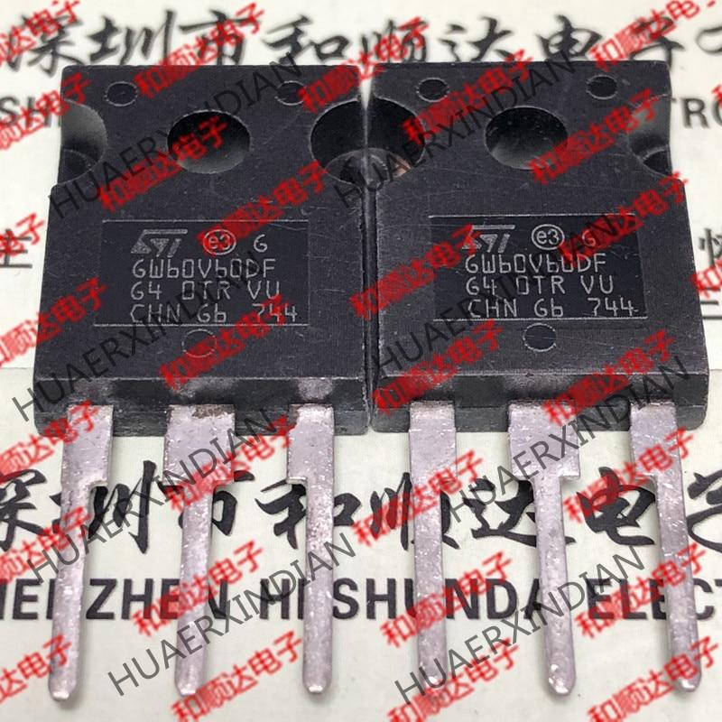 Новый оригинальный GW60V60DF STGW60V60DF TO-247 IGBT 600V 80A