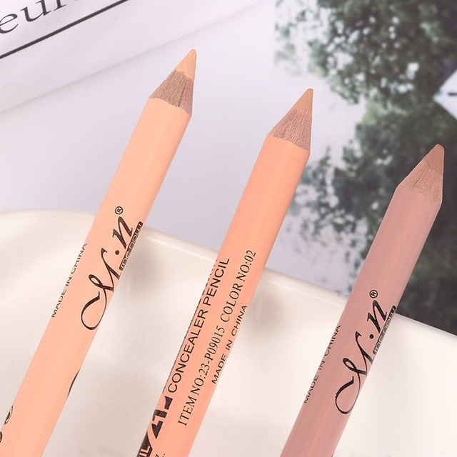 Professional Hot Sale Double Head Eyebrow Pen Eye Liner Pencil Concealer Stick Pencil Long Lasting Makeup Cosmetics tool 2
