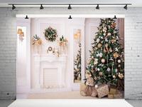 Винилбдс Рождественские фоны для фотосъемки рождественские украшения для дома детские фоны для фотосъемки Рождество