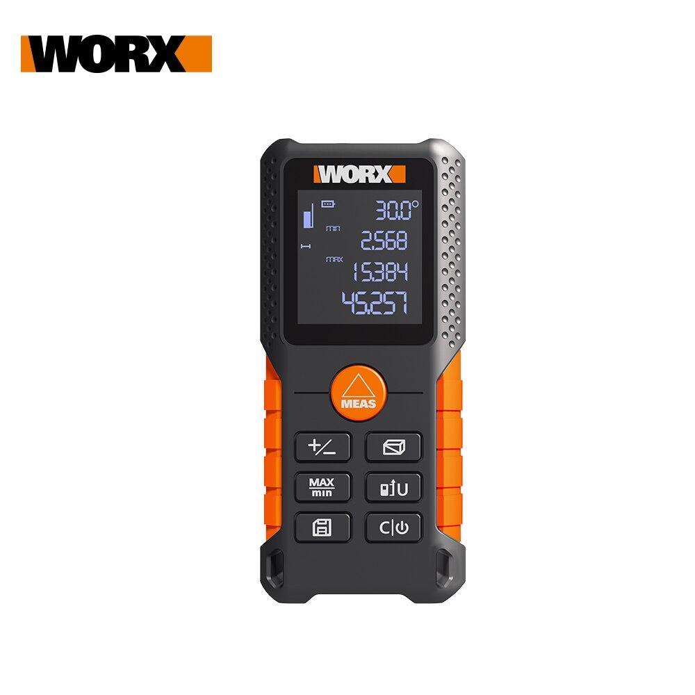 Лазерный дальномер WORX WX087, дальномер 40 м, лазерный дальномер, встроенный измеритель, цифровая линейка, дилатометр trena roulette|Аксессуары для электроинструментов|   | АлиЭкспресс