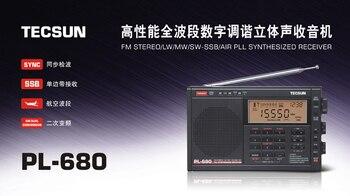 Радиоприемник TECSUN PL-680, FM/AM/SW/SSB 4