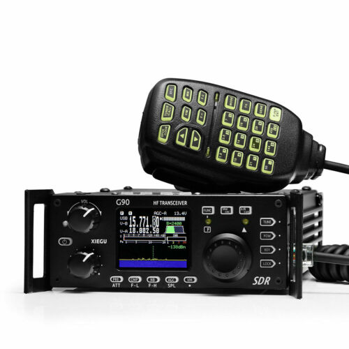 Xiegu G90 HF émetteur-récepteur 20W SSB/CW/AM/FM SDR Radio tuner d'antenne intégré