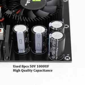 Image 3 - Amplificador Digital estéreo de dos canales, alta potencia, 100W + 100W, TDA7293, XH A132 de audio para cine en casa