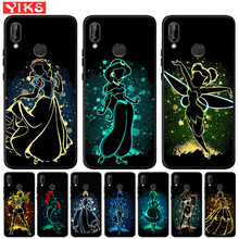Queen Princess Alice Ariel Soft Silicone Case For Huawei Mate 20 P30 P20 P10 P9