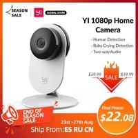 YI 1080p Cámara Wifi cámara Video inteligente cámaras con Montion detectar Ip cámara de seguridad de protección de Mini cámara Gato perro Cam