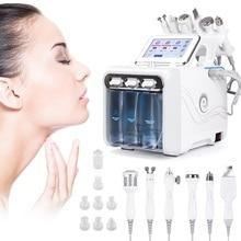 6で1水皮膚剥離機ディープクレンジング機器水ジェットハイドロダイヤモンド顔の美白リフティング家庭用サロン