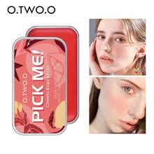 Palette de Rouge à lèvres, 1 pièce, fard à paupières, contour, Monochrome, Rouge, crème, maquillage coréen, cosmétiques pour le visage, Maquiagem, TSLM1