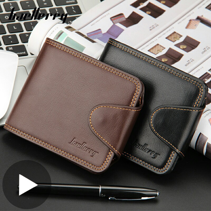 Small Short Money Bag For Men Wallet Male Purse Card Coin Holder Vallet Partmone Walet Portofele Penazenka Coughs Brieftasche