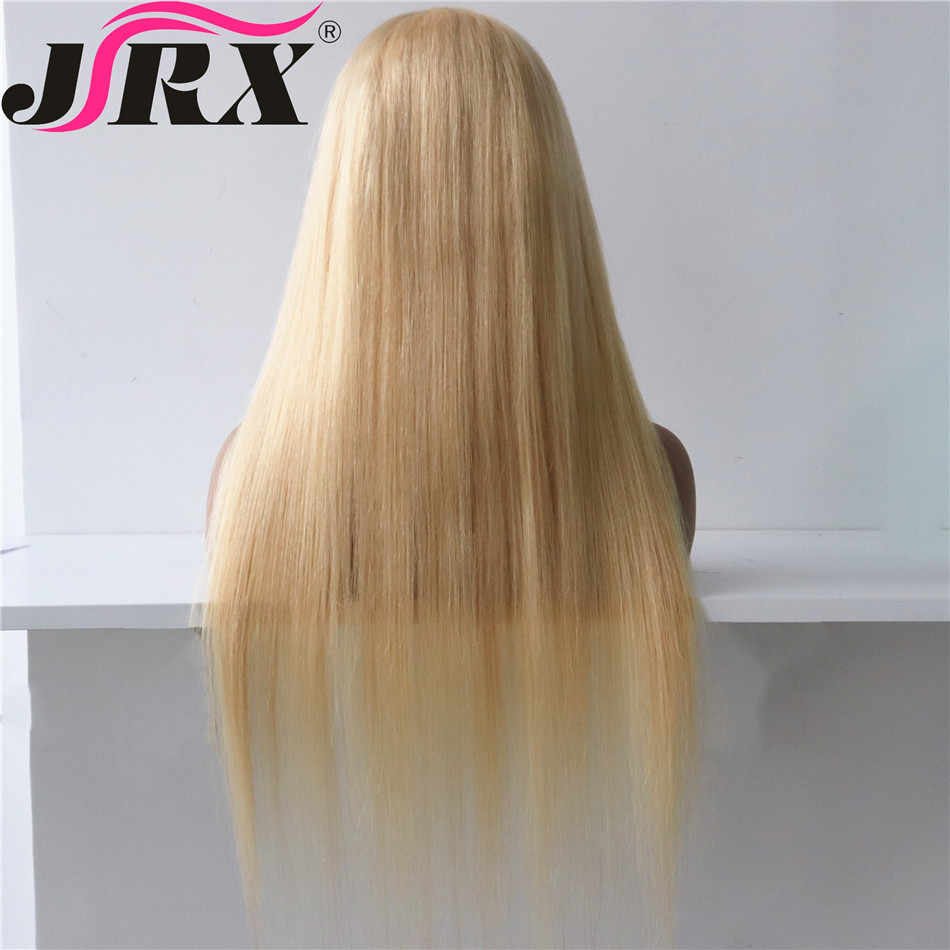 Transparent Full Lace Wigs Pre Plucked 613 Blonde Color Brazilian Straight Wigs Remy Hair 150% Density Human Hair Wigs For Women