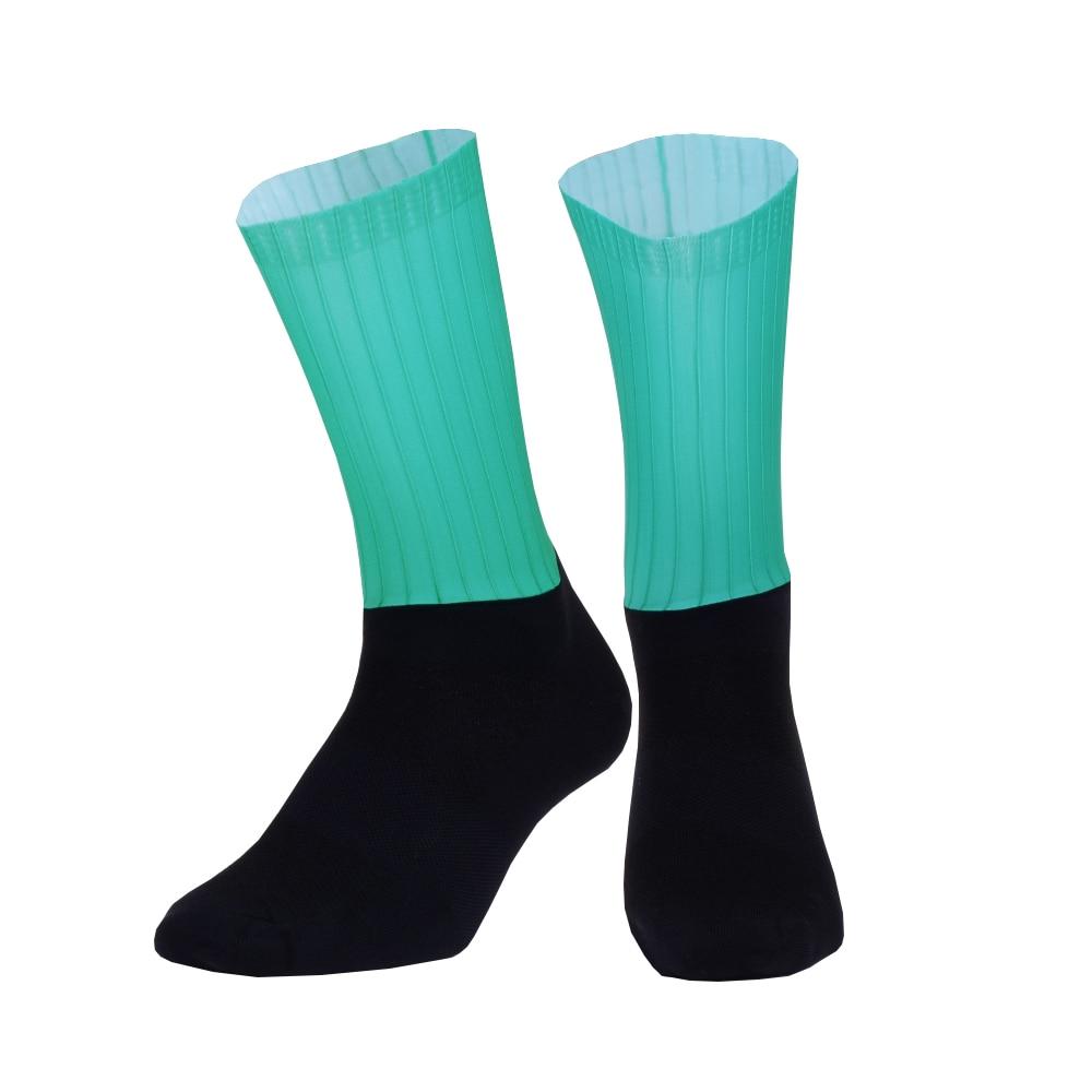 New Professional Silicone Anti Slip Cycling Socks Men Women Functional Material Non-slip Outdoor Sport Bike Bicyle Socks