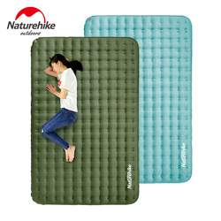 Naturehike TPU Sleeping Pad Inflatable Camping Mattress Portable 2 Person Wear Resistant Waterproof Air Mattress Hiking Thicken