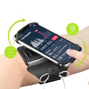 Image 2 - 360 dönebilen ayrılabilir kol bandı cep telefonu tutucu açık spor için spor koşu NC99