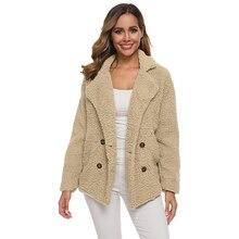 New 2019 Winter Teddy Coat Women Faux Fur Bear Thick Warm Fake Fleece Fluffy Plus Size 5XL Overcoat Fashion