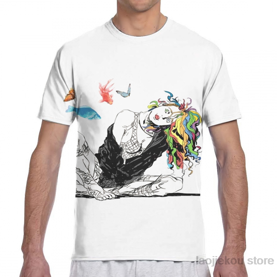 Delirium The Sandman Vertigo Comics Men T-Shirt Women All Over Print Fashion Girl T Shirt Boy Tops Tees Short Sleeve Tshirts