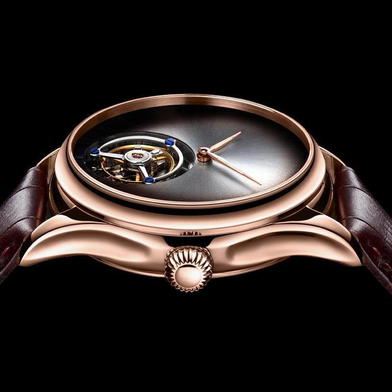 GUANQIN 2019 Tourbillon Men watches top brand luxury 100% real Tourbillon clock men Sapphire mechanical watch Relogio Masculino 2